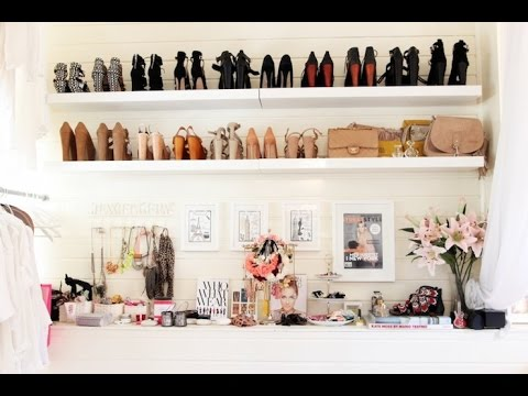 Fantastic Floating Shelves Shoes