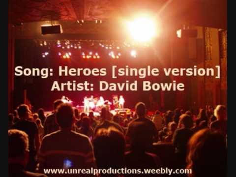 Heroes [Single Version] - David Bowie