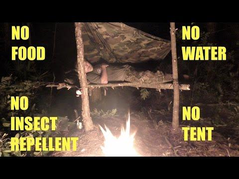 Survival Camping - Bushcraft Trip NE Florida Day 1