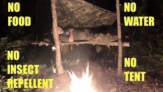 Survival Camping - Bush¢raft Trip NE Florida Day 1