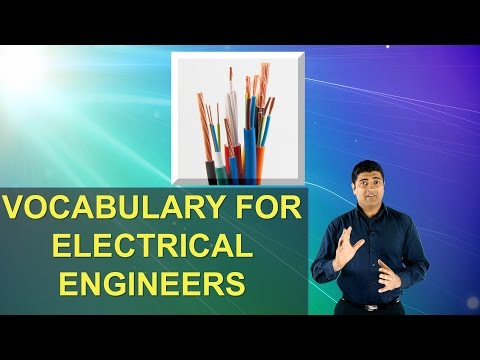 Vocabulary for Electrical Engineers