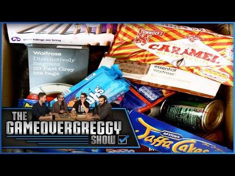 Crazy UK Snack Taste Test 2!  The GameOverGreggy  Ep. 87 Pt. 4