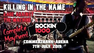 Killing In The Name - Rage Against The Machine - Rockin'1000 - Frankfurt 2019 (Multicam, Best Sound)