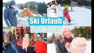 Leona fährt Ski ⛷ | Winterurlaub | Suite Roomtour | Rodeln mit Pauline | Isabeau