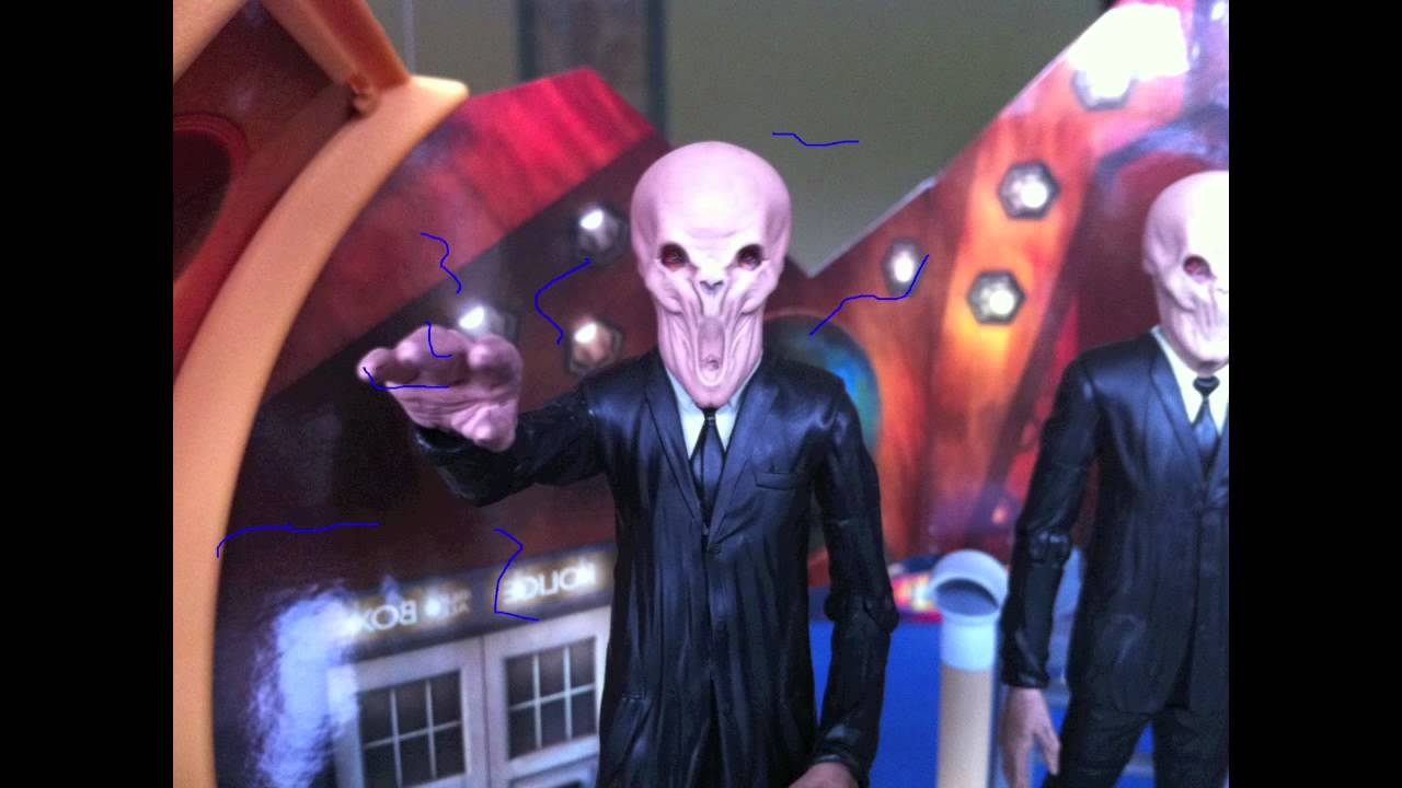Doctor Who Figure Adventures   Silence In The Pumpkin (Halloween Special)