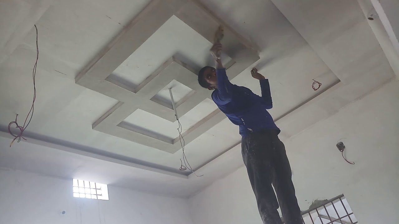 Normal Design Fall Ceiling Design P O P Small Room And Better Design Youtube