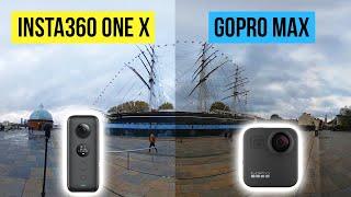 GoPro Max vs Insta360 One X: ULTIMATE COMPARISON (with Shanil Kawol)