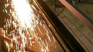 Custom Made CNC Plasma Cutter - Table Design