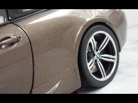 BMW M6 E63 in scale 1:18 by Kyosho