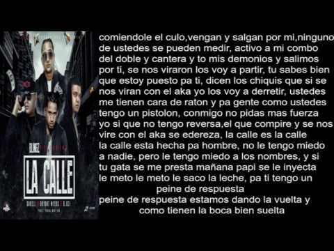 Blingz Ft Darell,Bryant Myers y D.Ozi La Calle (Letra)