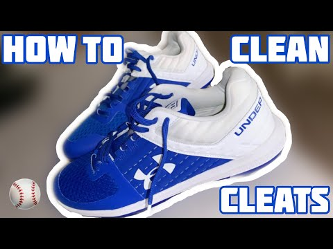 HOW TO CLEAN BASEBALL CLEATS
