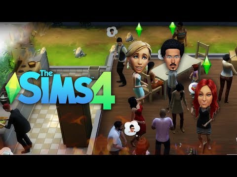 EDMOND'S FIRST HOUSE PARTY?! | The Sims 4 | Lets Play - Part