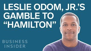 "Leslie Odom, Jr 's $500,000 Gamble That Led To ""Hamilton"""
