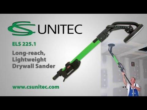 CS Unitec ELS 225.1 Long-Reach Drywall Sander 9 Disc Diameter