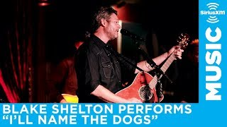 Blake Shelton performs I'll Name the Dogs for SiriusXM The Highway