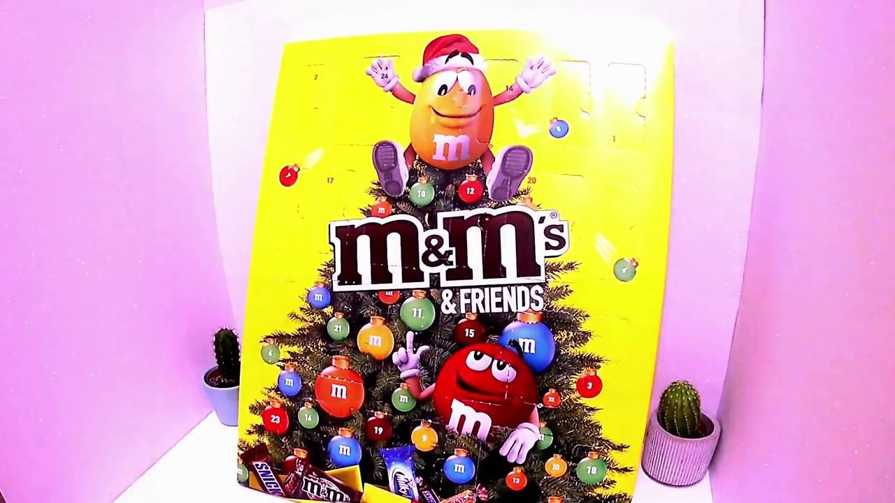 Calendario Avvento Mms.M M S Christmas Collection Chocolate Unboxing I M M S Christmas Surprise I M M S Natale 2018