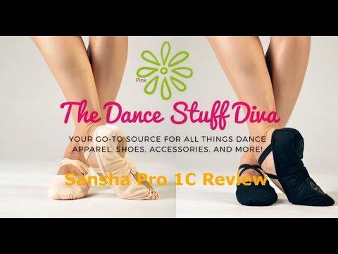 Sansha Pro 1C Split Sole Canvas Ballet Shoe Review