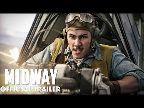 'Midway': Nick Jonas Portrays Fighter Pilot in Trailer for World War II Film