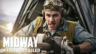 Midway (2019 Movie) New Trailer - Ed Skrein, Mandy Moore, Nick Jonas, Woody Harrelson