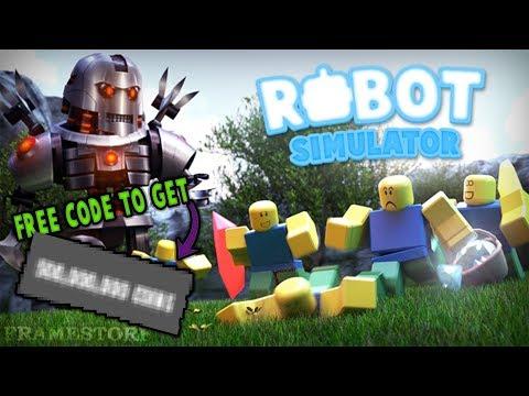 (NUKE) THE MOST OP CODE - Roblox Robot Simulator