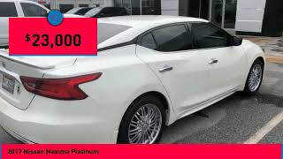 2017 Nissan Maxima Columbus GA HC392445