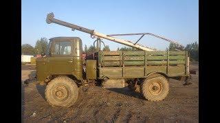 Бурильная машина на шасси ГАЗ-66