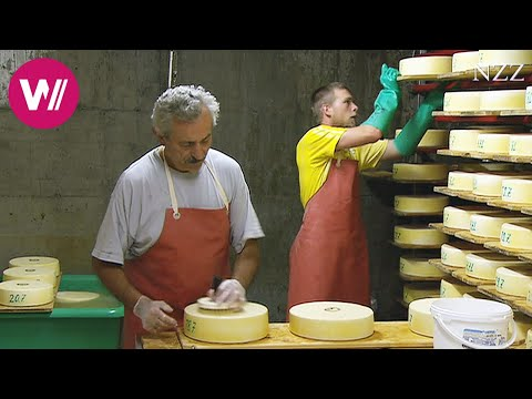 Cheesemaking - a visit at a Swiss dairyman
