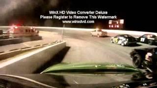 Jan 1st 2012 Dillon U Car Clash Race spun out crashed racing with a broke rr strut