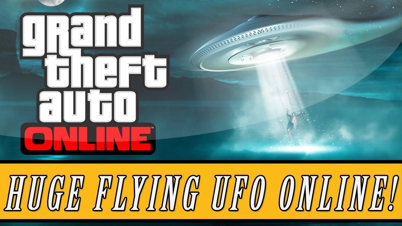 GTA 5 Online: Simple Method to Get a UFO Spaceship