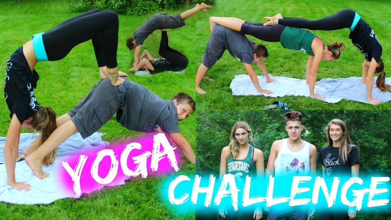 Extreme Yoga Challenge! - YouTube