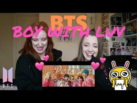 BTS (방탄소년단) '작은 것들을 위한 시 (Boy With Luv) feat. Halsey' Official MV REACTION