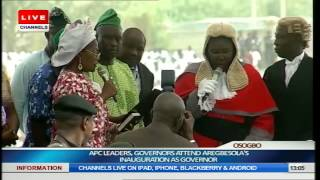 Inauguration Of Rauf Aregbesola As Governor Of Osun State Part 6