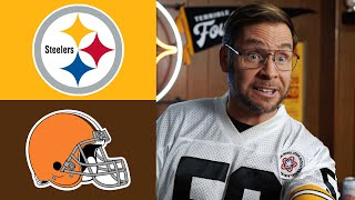 Pittsburgh Dad Reacts to Steelers vs Browns