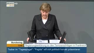 Regierungserklärung Angela Merkel: Ankündigung des Orwellschen Überwachungsstaat!?
