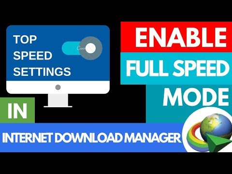 How To Increase IDM Speed 2019 Trick   Internet Download Manager Speed Boost   Broadband, Wifi