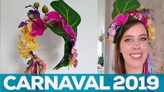 FANTASIA DE CARNAVAL 2019: como fazer 3 adereços de cabelo | Sabrina Olivetti