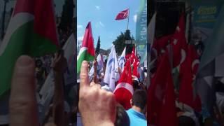 Esir mi olurdu Mescid-i Aksa  (Beyazıt Meydanı 2017)