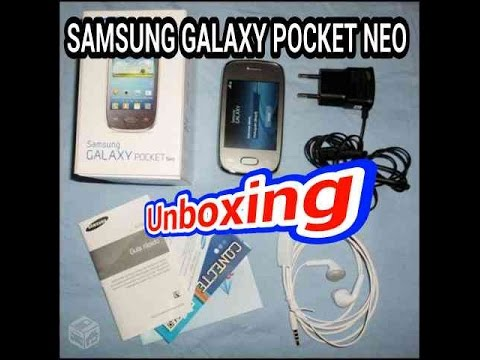 Samsung Galaxy Pocket Neo Unboxing (BR)
