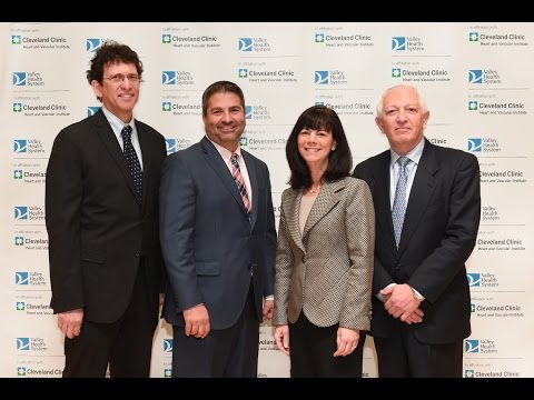 Valley Health System Announces Cardiac Care Affiliation with Cleveland Clinic