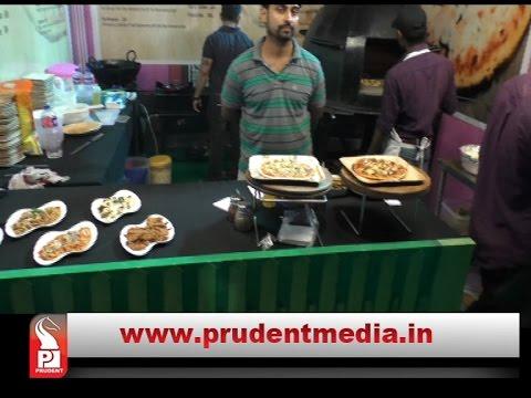 PEOPLE RUSH FOR FOOD FESTIVAL IN PANAJI