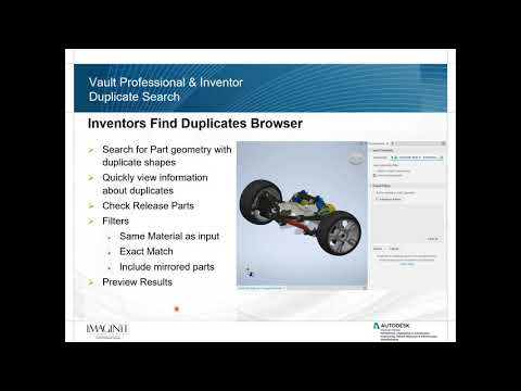Exploring the Duplication Feature in Autodesk Vault