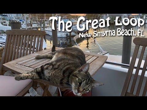 Taking It Slow In New Smyrna Beach, Florida | Great Loop Cruising, Episode 19