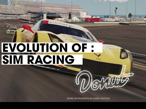 Evolution of Sim Racing   Donut Media