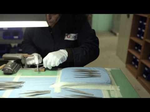 Rubis 130 (1K102) 3¾'' Slanted Tweezers video_2