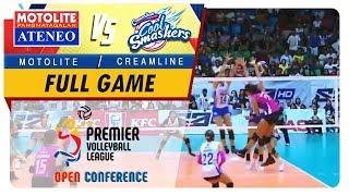PVL OC 2018: Ateneo-Motolite vs. Creamline   Full Game   5th Set   October 28, 2018