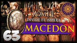 BLOODY WATERS! Total War: Rome II - Divide Et Impera - Macedon Campaign #63