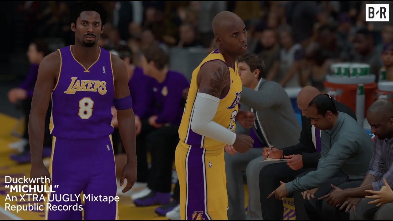 7d6ca783ef33 No. 8 and No. 24 Kobe Bryant s Clash in NBA 2K Simulation - YouTube
