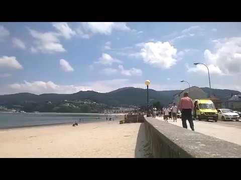 Un anciano muere en la playa de Covas