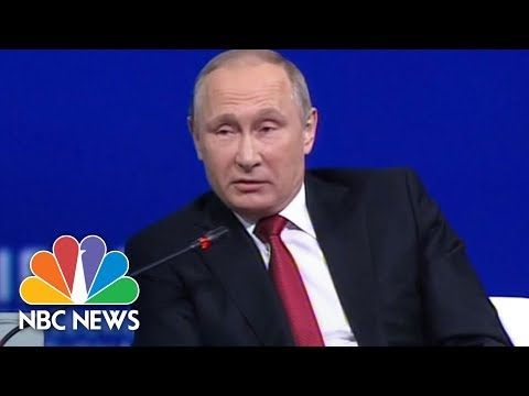 Vladimir Putin Quizzed By Megyn Kelly Over Russian Involvement In U.S. Elections | NBC News