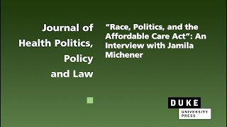 The ACA at 10 – Interview with Jamila Michener